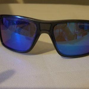 Oakley Double Edge Gray Sunglasses